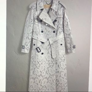 Burberry Trench coat. Special material.